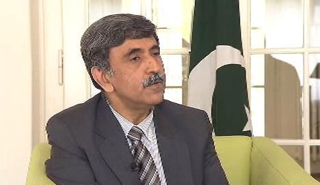 Pákistánský velvyslanec v ČR Aitzaz Ahmad