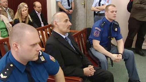 Petr Krstev v soudní síni