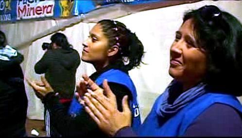 Příbuzní zavalených chilských horníků