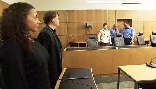 Nadja Benaissová před soudem