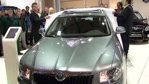 Škoda Auto v Moskvě