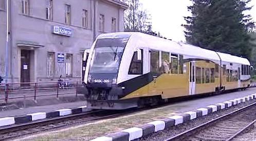 Vlak v Kořenově