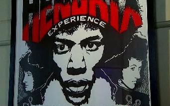 Z londýnské výstavy o Jimi Hendrixovi