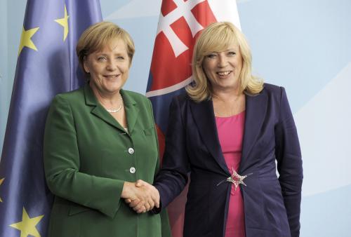 Merkelová a Radičová