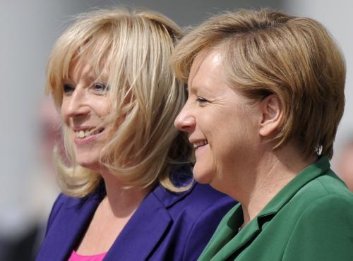Radičová a Merkelová