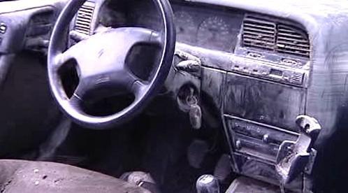 Vytopené auto