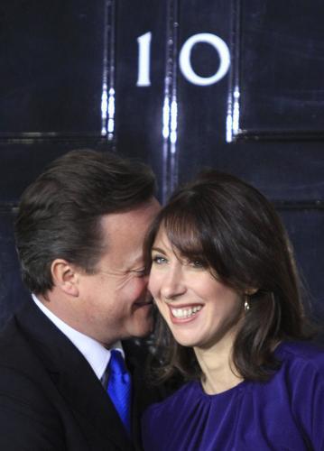 David Cameron s manželkou Samanthou