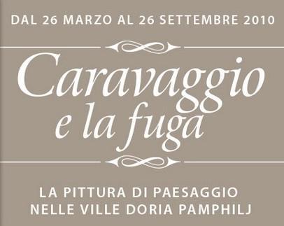 Caravaggio / detail pozvánky