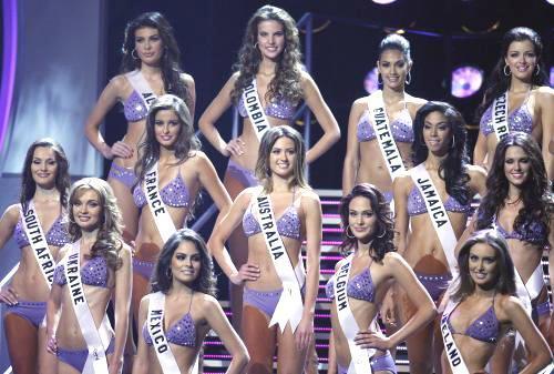 Finalistky Miss Universe 2010