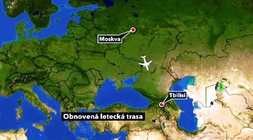Spojení Moskva - Tbilisi
