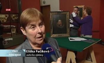 Autorka výstavy Eliška Fučíková