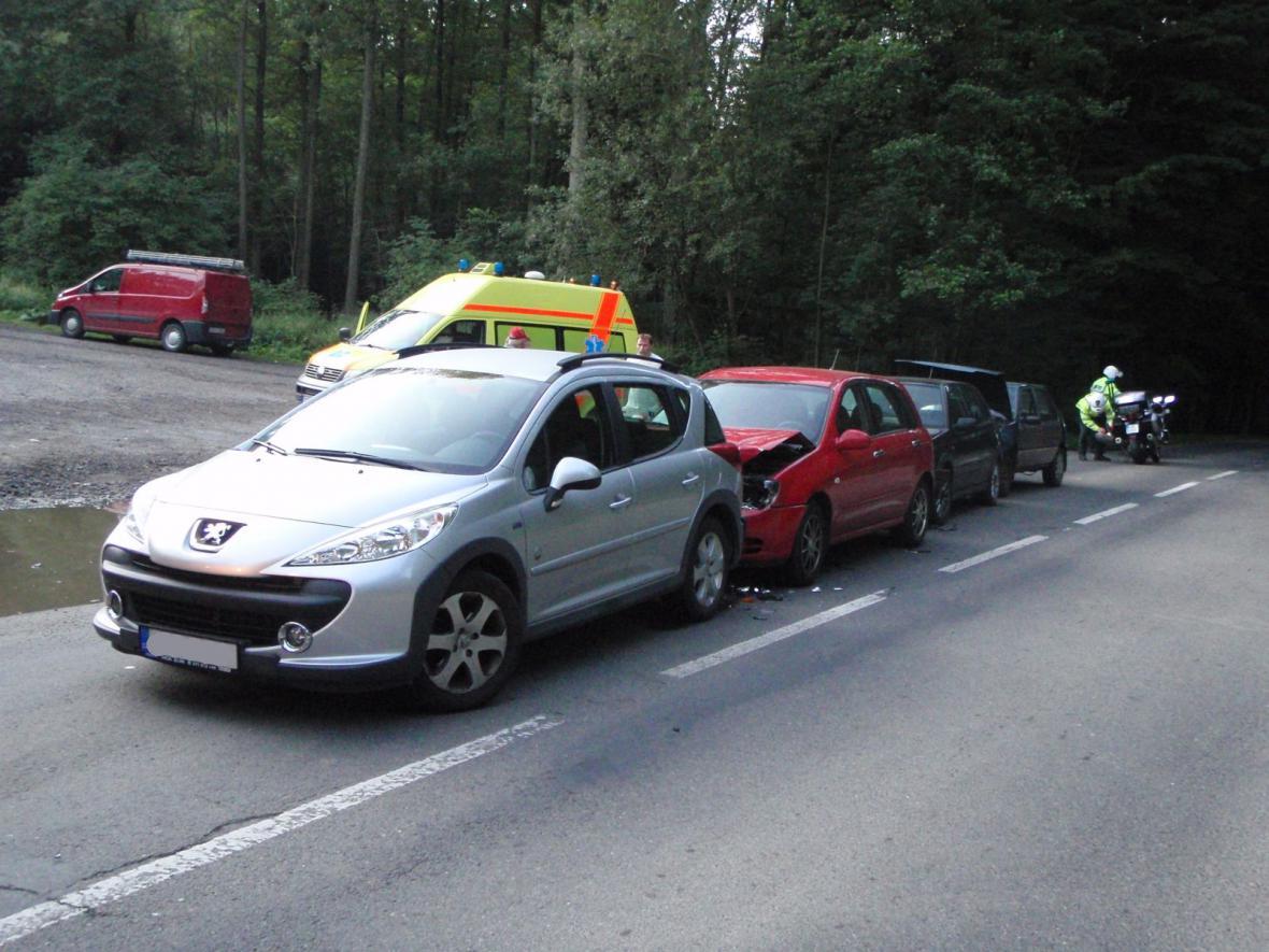 Řetězová dopravní nehoda