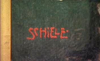 Egon Schiele / signatura umělce