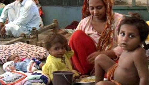 Pákistánským dětem hrozí podvýživa