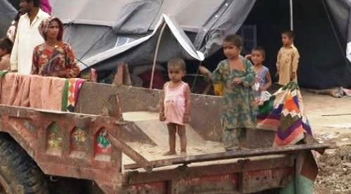 Tábor pro oběti povodní