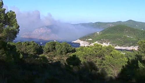 Požáry na Ibize