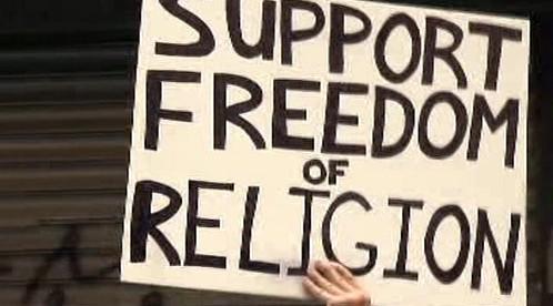 Svoboda náboženství