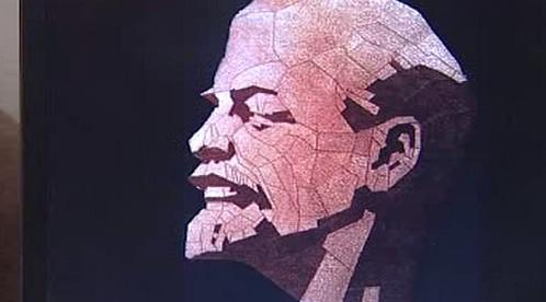 Portrét V.I.Lenina