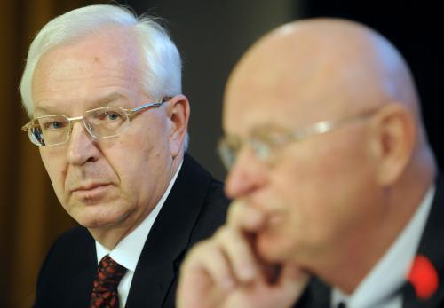 Jiří Drahoš a Václav Pačes