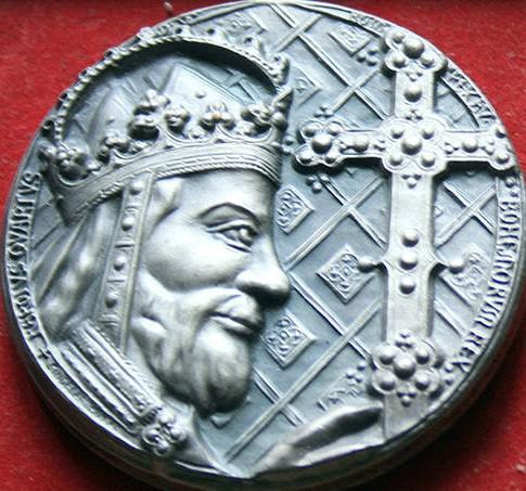 Lumír Šindelář / Pamětní medaile Karel IV.