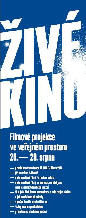 Živé kino / detail plakátu