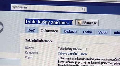 Odmítavé názory na facebooku