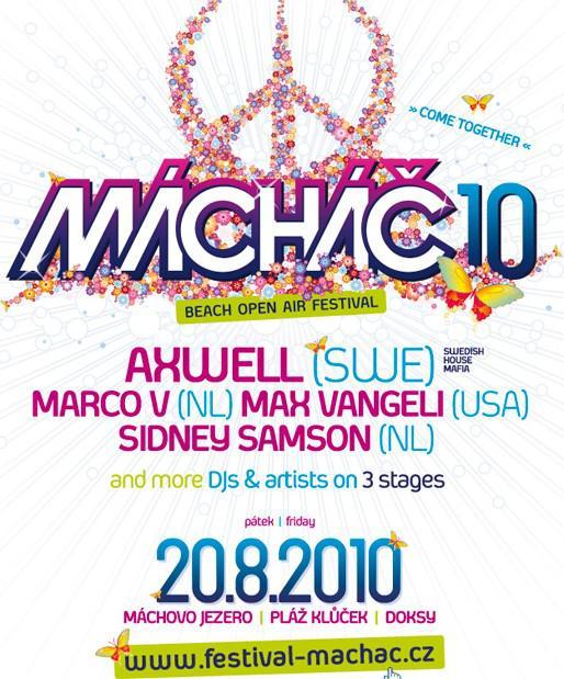 Mácháč 2010 / detail plakátu
