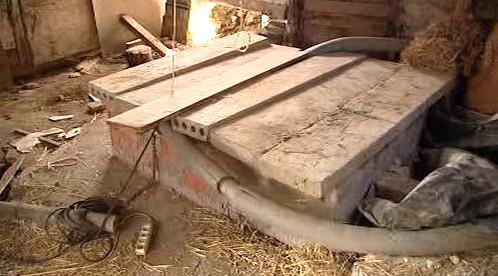 Studna na statku ve Chvojenu
