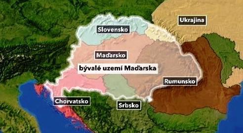 Bývalé území Maďarska