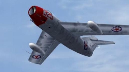 Severokorejský MiG-15