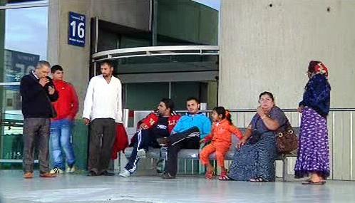 Balkanští Romové čekají ve Francii na deportaci