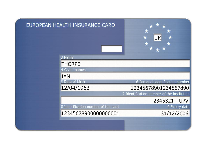Evropský průkaz pojištěnce