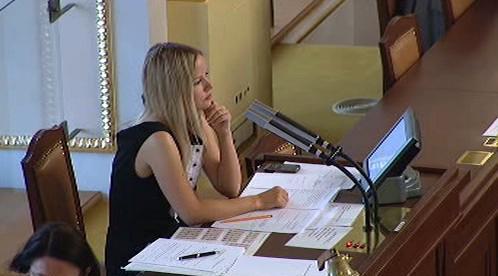 Klasnová při zasedání