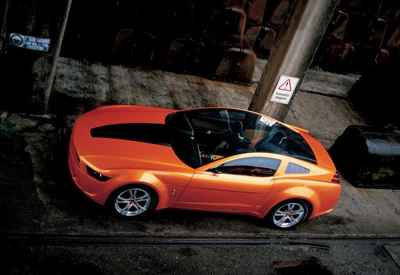 Ford Mustang koncept z pera Giugiara