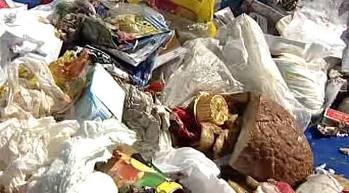 Netříděný odpad