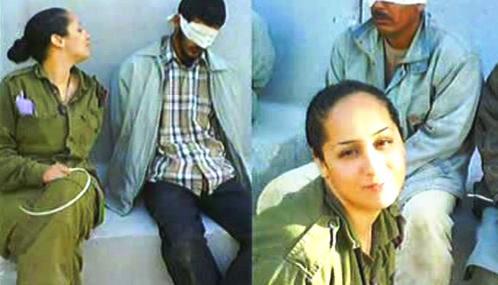 Eden Abergilová s palestinskými vězni
