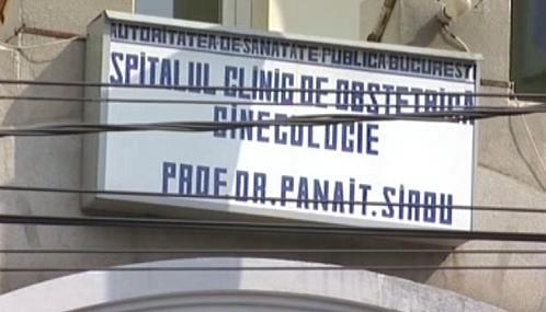 Bukurešťská porodnice ve čtvrti Giuleşti