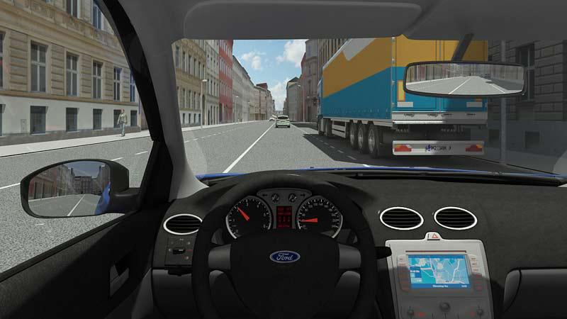 3D dopravní animace
