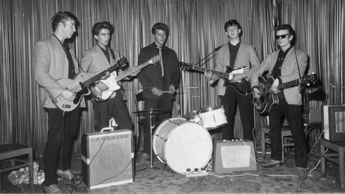 Beatles v Hamburku v 60. letech