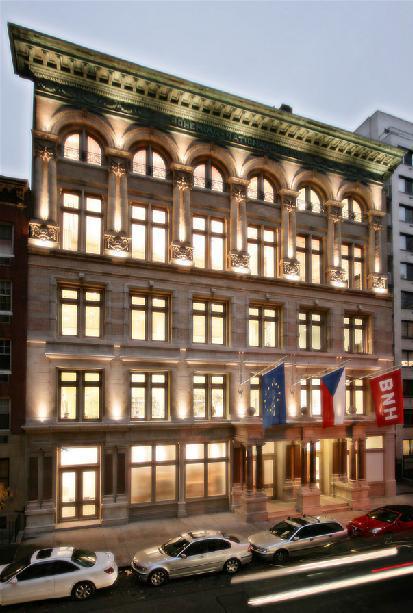 České centrum v New Yorku