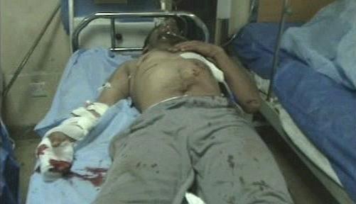 Oběti atentátu v Bagdádu