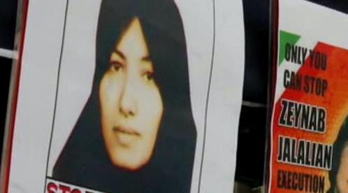 Odsouzená Íránka