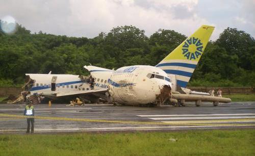 Nehoda letounu v Kolumbii