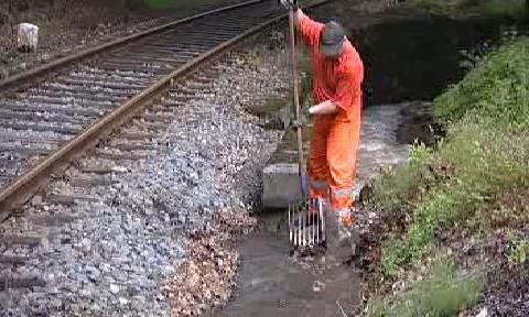 Podemletá železnice