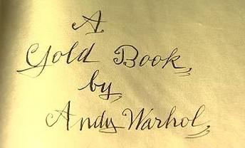Andy Warhol / rukopis