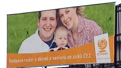 Billboard sociální demokracie