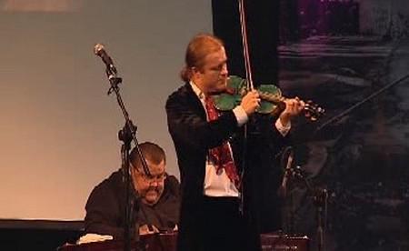 Pavel Šporcl na koncertě
