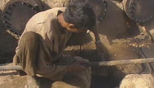 Objev ropného pole v Afghánistánu