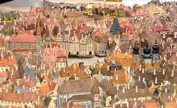 Model staré Prahy