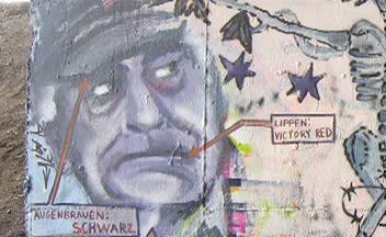 Milan Paumer jako graffiti
